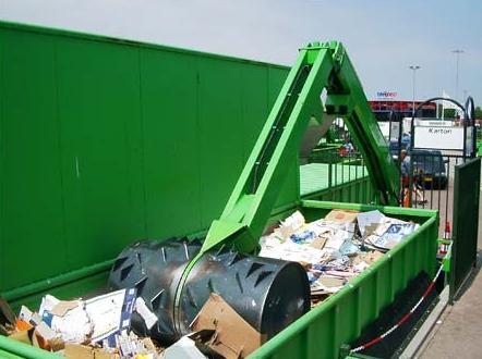 Валовый ролл-каток Gigant GT 1750 для уплотнения отходов и ТКО