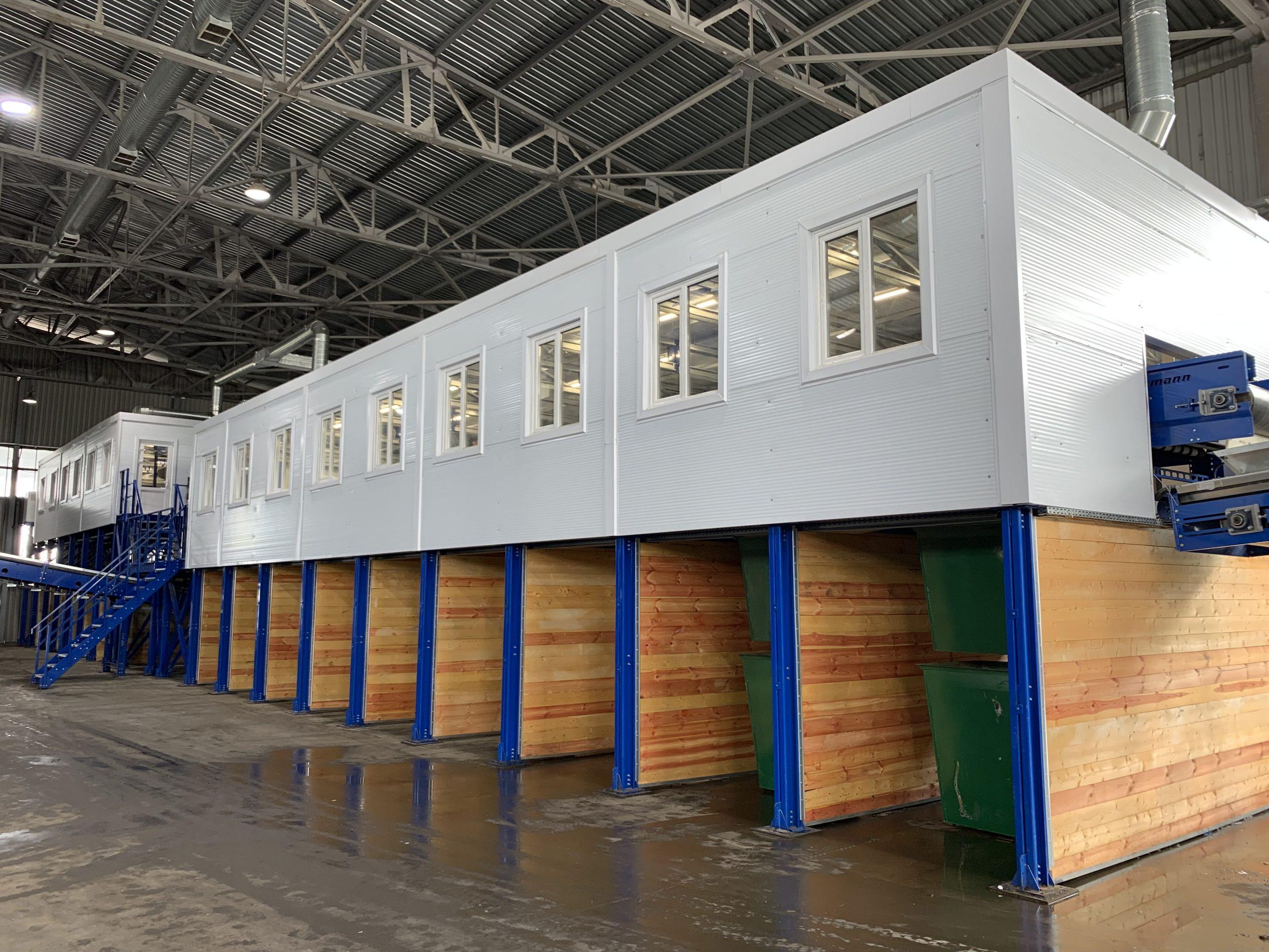 Вторая линия мусоросортировочного завода запущена в Иваново