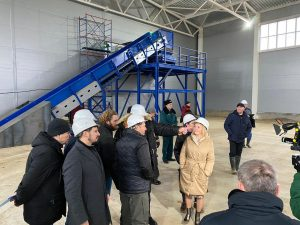 Открытие комплекса по переработке отходов КПО «Алексинский карьер»